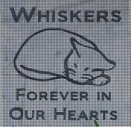 Whiskers Forever In Our Hearts Crochet Pattern