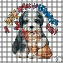A Hug Keeps The Grumps Away Crochet Pattern