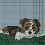Brown & White Dog Crochet Pattern