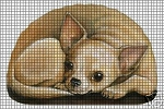 Chihuahua Laying Down Crochet Pattern