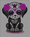 Puppy Skull Crochet Pattern