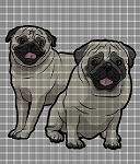 The Pugs Crochet Pattern