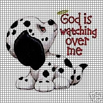 God Is Watching Over Me Crochet Pattern