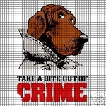 McGruff Crime Dog Crochet Pattern