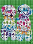 Painting Puppies Crochet Pattern