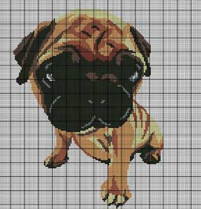 Pug The Dog Crochet Pattern