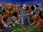 Puppy Garden Crochet Pattern