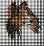 Sable Sheltie Full Face Crochet Pattern
