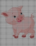 Happy Little Pig Crochet Pattern