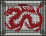 Red Dragon Crochet Pattern