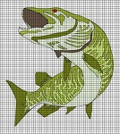 Mighty Muskie Crochet Pattern