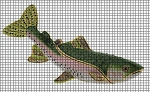 Trout Crochet Pattern