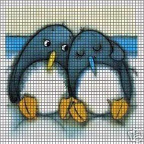 Penguin Pals Crochet Pattern