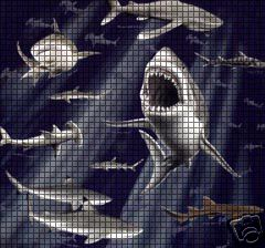 Sharks Crochet Pattern