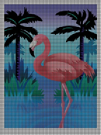 Beautiful Flamingo Crochet Pattern