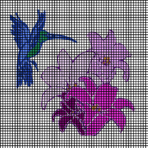 Hummingbird In Flight Crochet Pattern