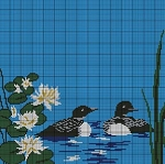 Loons Looking Around Crochet Pattern