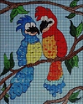 Pretty Parrots Crochet Pattern