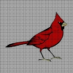 Red Cardinal Crochet Pattern