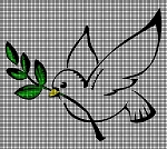 White Dove With Olive Branch Crochet Pattern