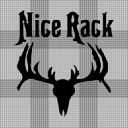Nice Rack Crochet Pattern