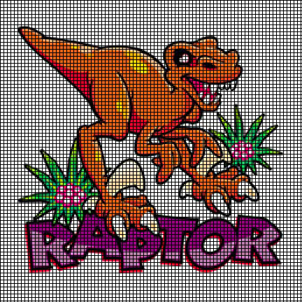 Raptor Crochet Pattern