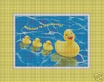 Ducks In A Row Crochet Pattern