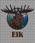 Elk Crochet Pattern
