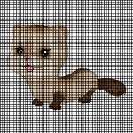Baby Ferret Crochet Pattern