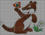 Cute Brown & White Ferret Crochet Pattern