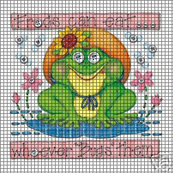 Frogs Can Eat Crochet Pattern
