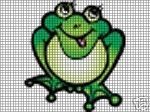 Happy Little Bullfrog Crochet Pattern