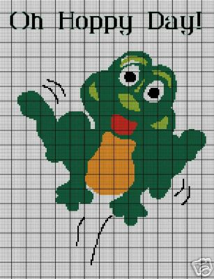 Oh Hoppy Day Frog Crochet Pattern