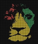 Jamaican Lion Crochet Pattern