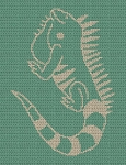 The Iguana Crochet Pattern