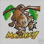 Monkey See Crochet Pattern