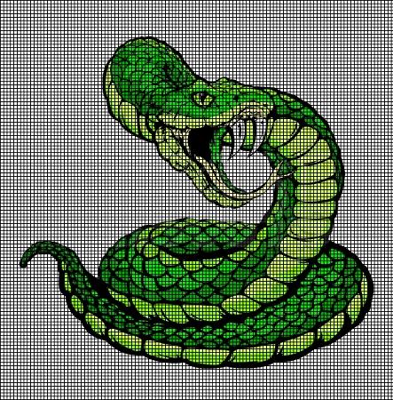 Snake Attack Crochet Pattern