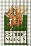 Squirrel Nutkin Crochet Pattern