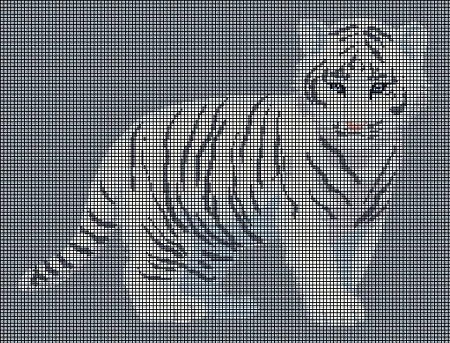 Little White Tiger Cub Crochet Pattern