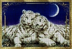 White Tigers Sleeping Crochet Pattern