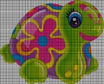 Colorful Turtle Crochet Pattern
