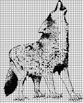 Gray Wolf Crochet Pattern