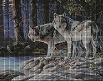 The Grey Wolves Crochet Pattern
