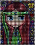 Hippie Girl Crochet Pattern