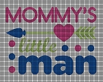 Mommy's Man Crochet Pattern
