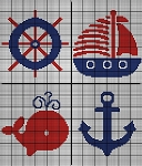 Nautical Baby Crochet Pattern