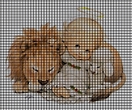 Baby Angel, Lion and Lamb Crochet Pattern