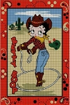 Betty Boop Cowgirl Crochet Pattern