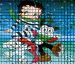 Baby Boop Ice Skating Crochet Pattern
