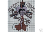Betty Boop I'm A Star Crochet Pattern
